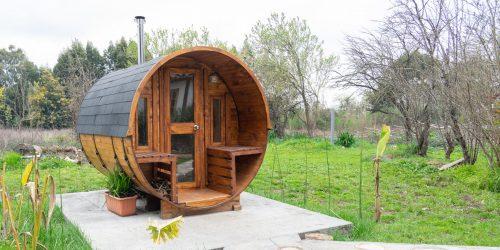 Sauna exterior -
